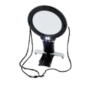 Dual Purpose Neck & Desk Magnifier